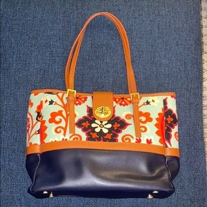 Never-used, colorful Spartina 449 tote bag